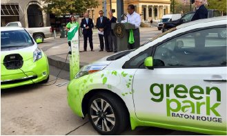 Baton Rouge Green Park Initiative with PowerPost Electric Vehicle Charging Stations