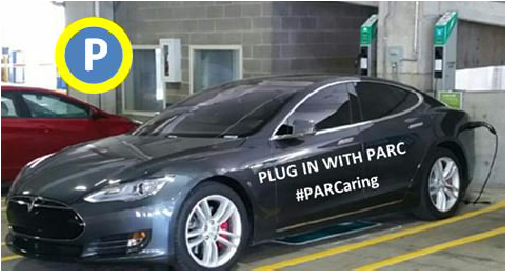 Louisville Parking Garage installs Wall Mounted Electric Vehicle Charging Stations PowerPost EVSE