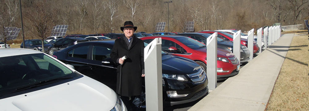 PowerPost Level 1 EV Chargers installed at Melink